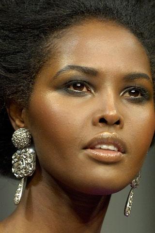 Somali model Ubah Hassan.