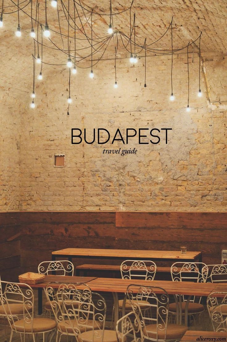 Budapest is the perfect destination for a low-budget city trip. If you want to treat yourself to the best food, drinks and thermal baths there are, go to Budapest! Although the level of style and fash