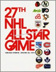 NHL All Star Game 1974