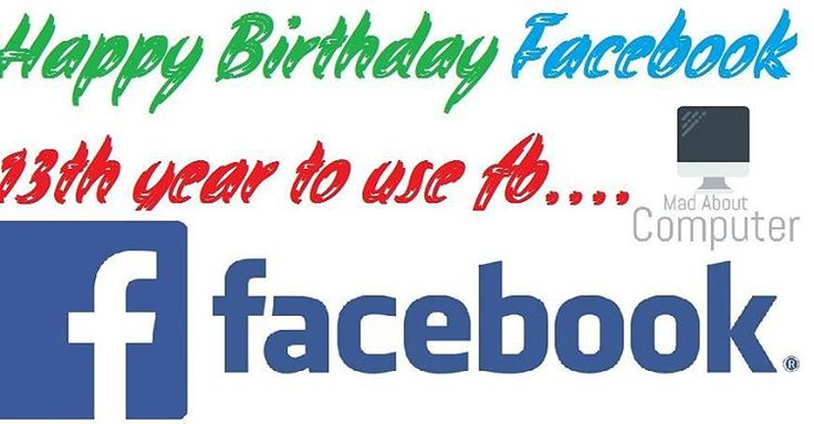 Happy Birthday Facebook  Today is 13th birthday of facebook  today February 4 2004 lauched date of fb  Say everybody who use fb  Happy Birthday Facebook #programmer #programming #coding #code #coder #computerscience #developer #codingquotes #tech #setup #php #python #html #css #java #javascript #webdev #coderlife #webdesign #webdevelopment #webdeveloper #cs #IT #sql #wordpress #cpanel #database #rubyonrails #codingproblems #codinglife