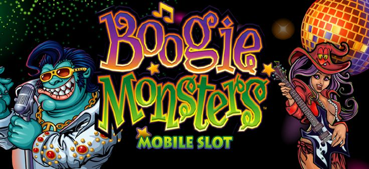 Party on at Royal Vegas Mobile casino with Boogie Monsters mobile slot