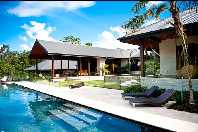 Tropical Pool House by Soul Space Studio, in Ridgewood, Australia   DesignRulz.com