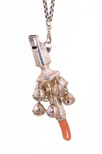 il corallo in medicina - coral & bells, UK, replica settecentesca di modello medioevale XVIIIs