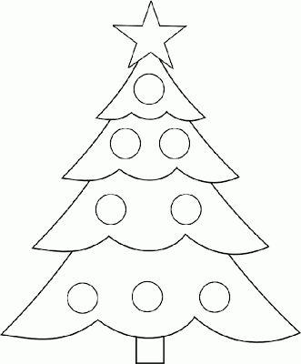 Baú da Web: Moldes enfeites árvore de Natal em feltro