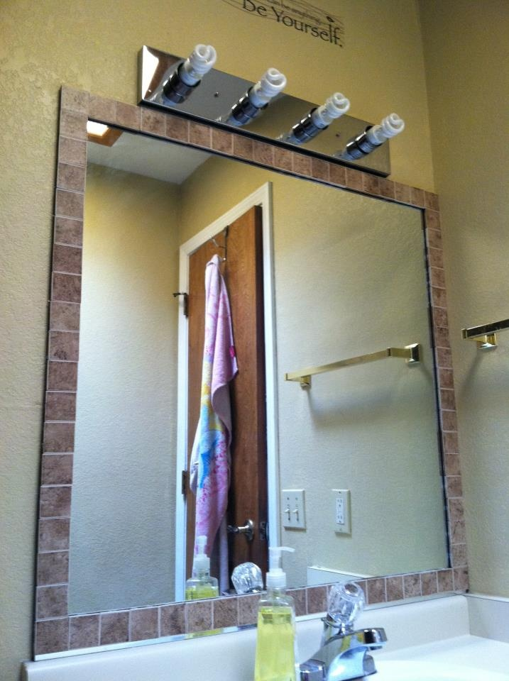 76 best images about for the home on pinterest for Redoing bathroom walls