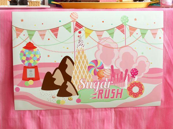 Wreck it Ralph Birthday - part 2...Sugar Rush | Want & Wishes Design