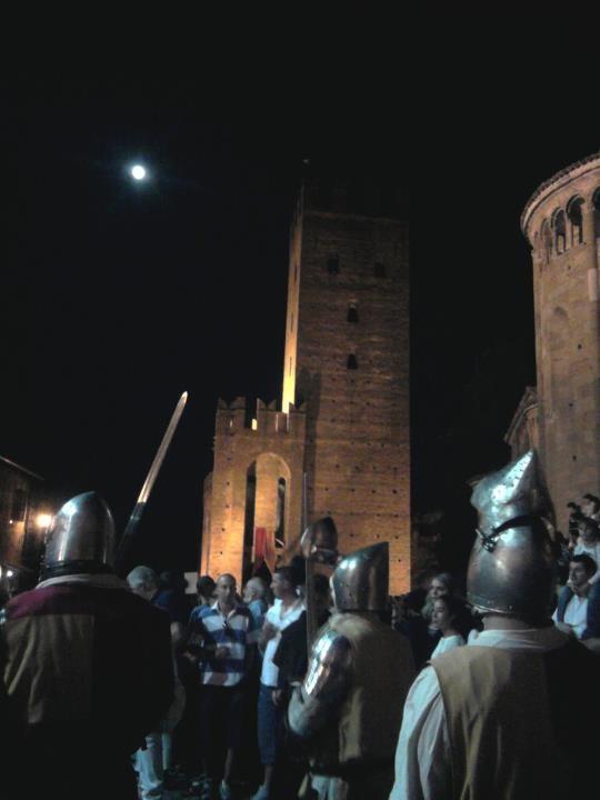 Castel Arquato, Piacenza (Italy), medieval event