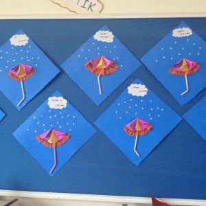 umbrella craft idea for kids (5)