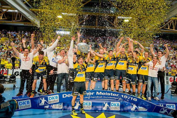 Deutscher Meister 2016: Rhein-Neckar Löwen!  #1teamamZiel