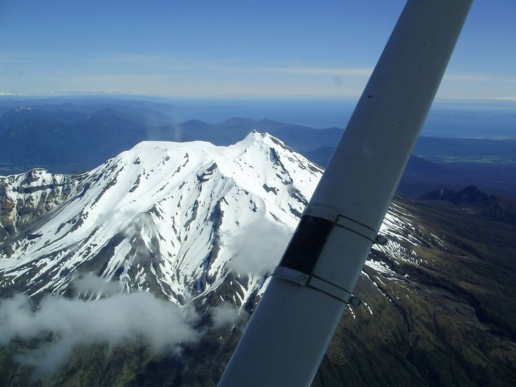 Another amazing Chilean volcano from a small plane in 2008.