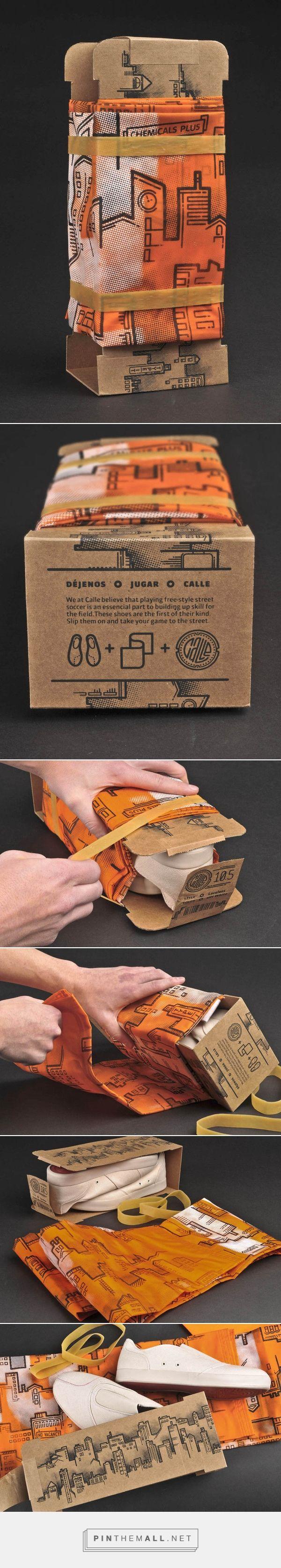 Calle - Street Soccer Shoe Packaging