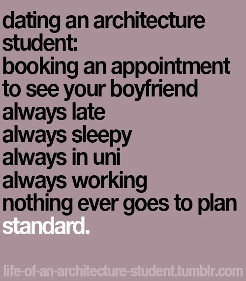 Life Of An Architecture Interior Design Student