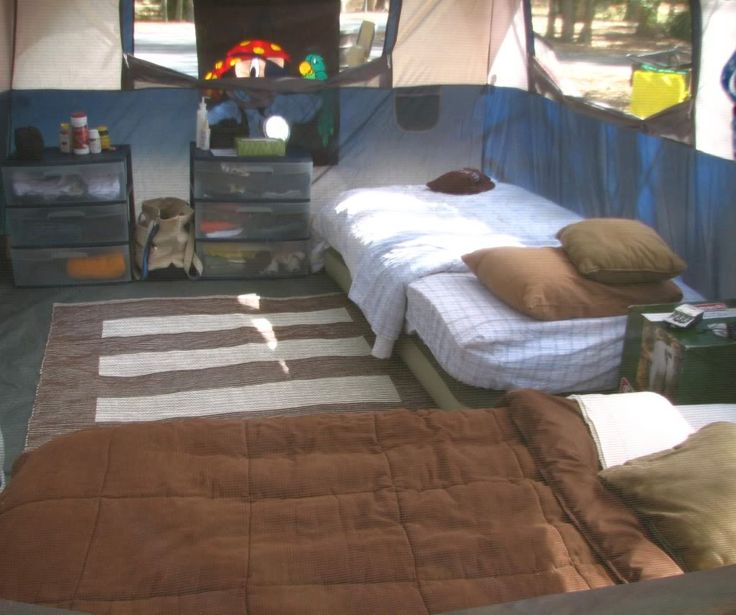 Sterilite Drawers Inside Tent Total Glamping This Is My Idea Of Camping