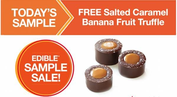 Give that special someone in your life a little something extra today! Get a FREE Salted Caramel Fruit Truffles Edible Arrangement! Just head over the the nearest Edible Arrangements location and mention this offer! It's that easy!