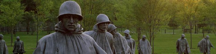 Korean War Veterans Memorial - Washington, DC. My Grandpa was a vet... he was also my best friend ^_^