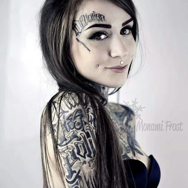 Monami frost on Pinterest | Hot Brunette Babes, Tattooed Women and Ink