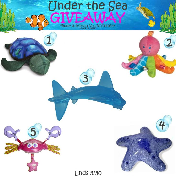 Our Under the Sea #giveaway ends tomorrow! Don't forget to swim on by and enter