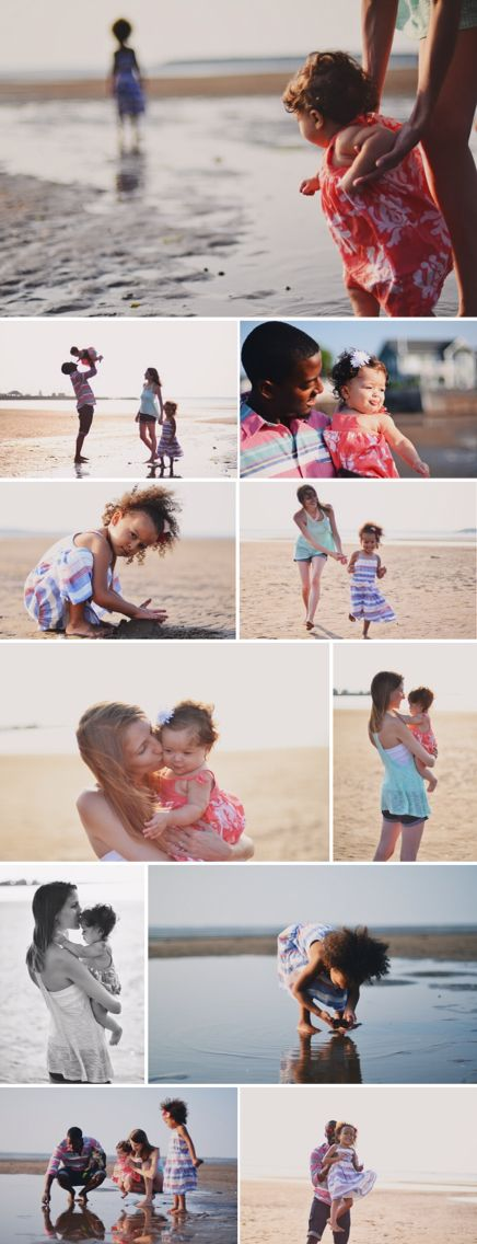 Family beach session. Adorable