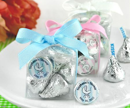 Personalized Hershey's Kisses Favor