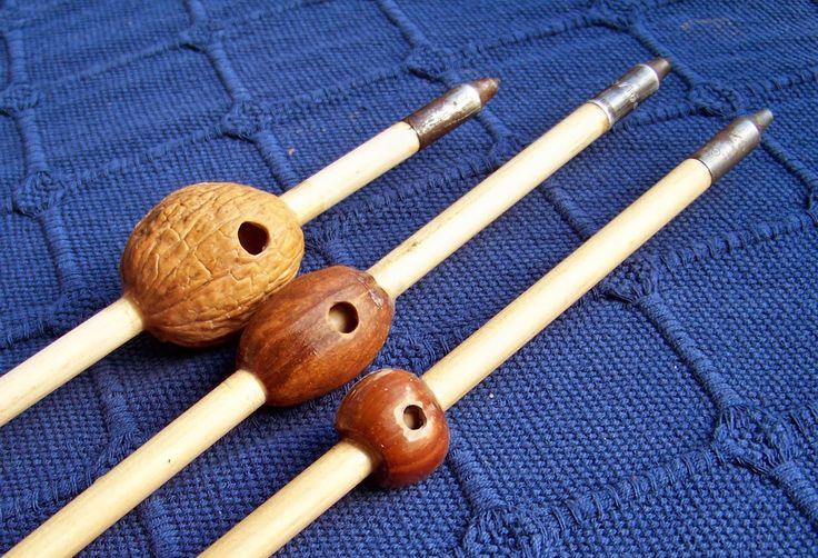 Bowyer's Diary: Walnut Pecan and Hazelnut Whistling Arrows