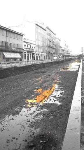 Naviglio Pavese. After The Rain! #Milano #Italy