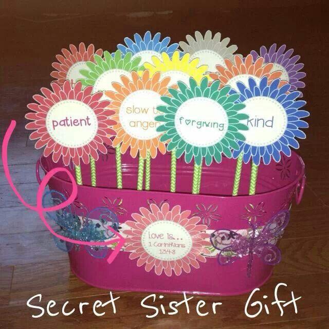 52 Best Secret Sister Ideas Images On Pinterest