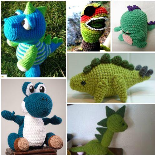 Amigurumis dinosaurios con patron gratuito: http ...