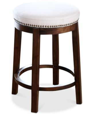 Kendal Swivel Counter Stool, Quick Ship