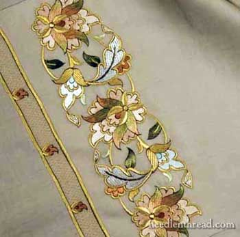 traditional middle eastern embroidery designs | When looking through the same collection of Turkish embroidery designs ...