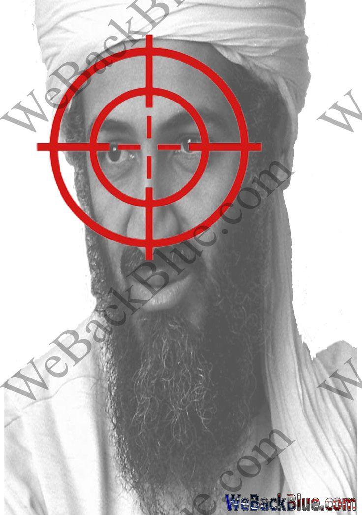 75 best Targets images on Pinterest | Shooting range, Hand ... Osama Bin Laden Targets For Shooting