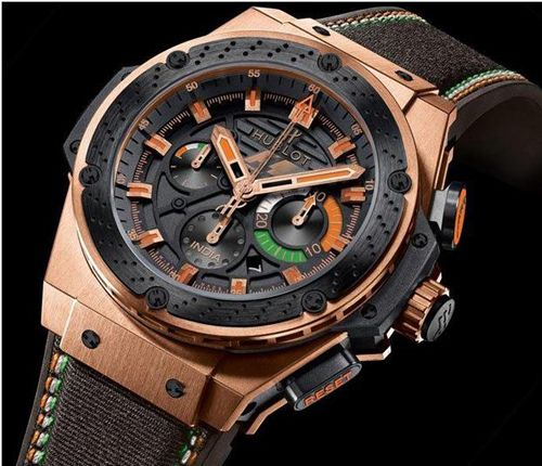 hublot watches for men | Hublot F1 King Power India Automatic Chronograph Specs Pictures ...