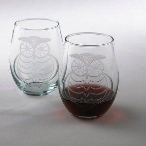 Wine Enthusiast Hoo Owl Tumbler