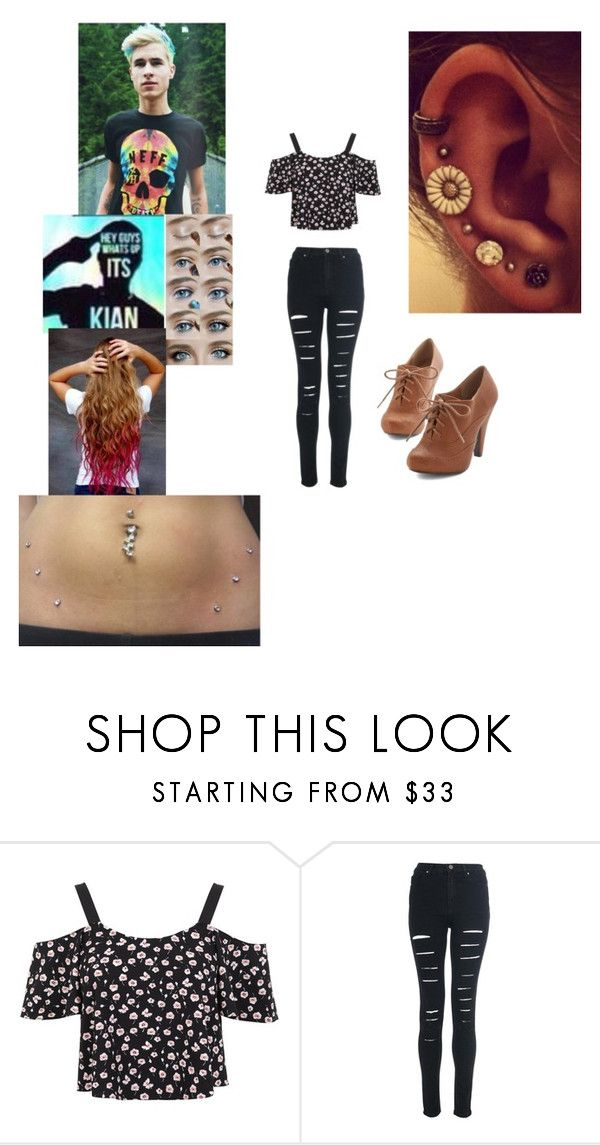 """""""you and bestie o2l Kian dyeing eachothers hair"""" by therealgreenqueen ❤ liked on Polyvore featuring Miss Selfridge"""
