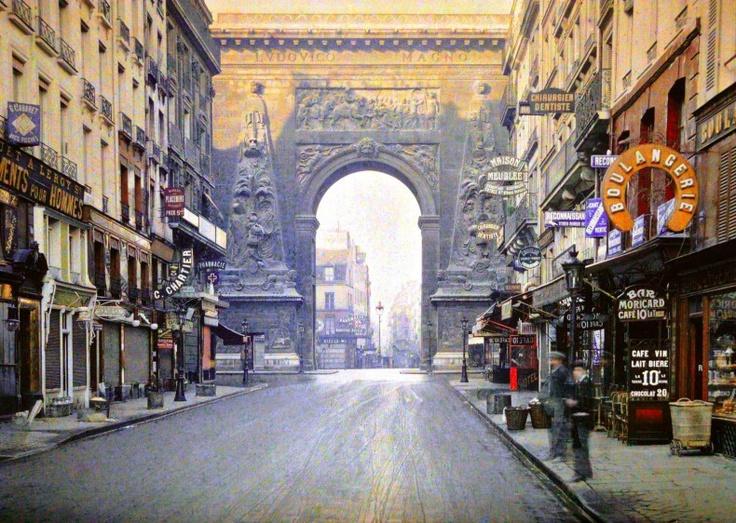 Rue du Faubourg Saint Denis 1914