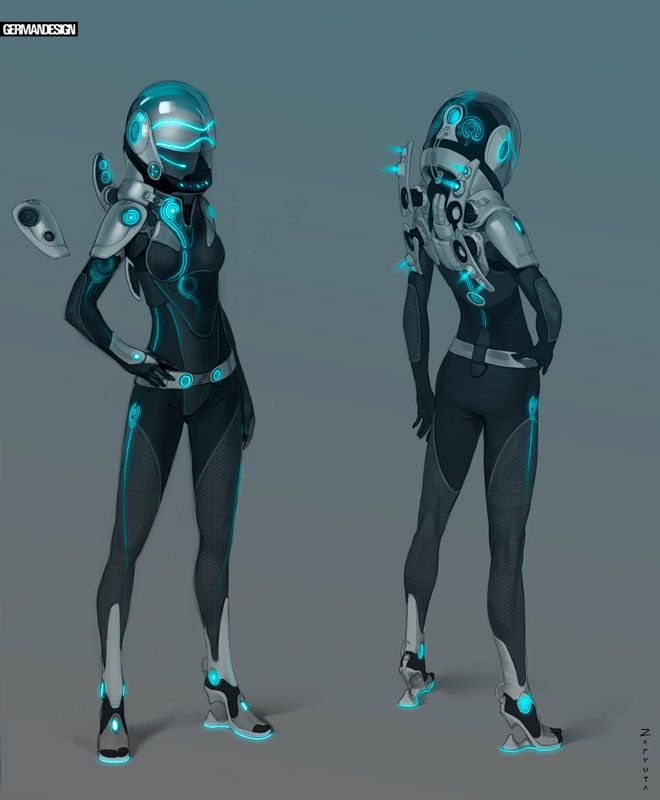 Super Punch: Space suit design