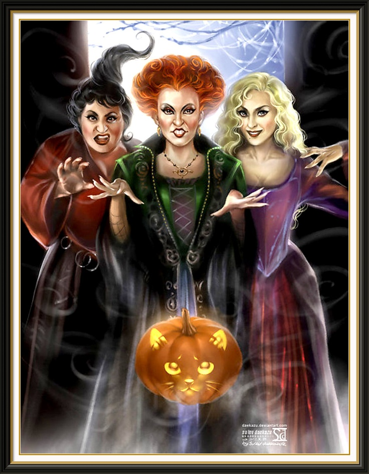 Halloween tradition...watching Hocus Pocus a billion times
