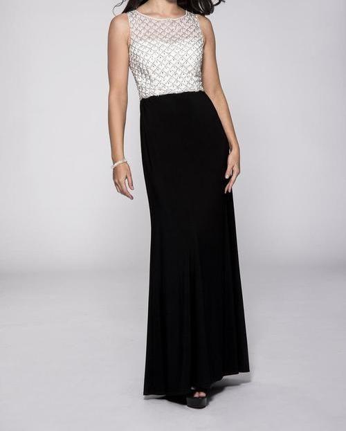 Cachet Long Plus Size Formal Dress