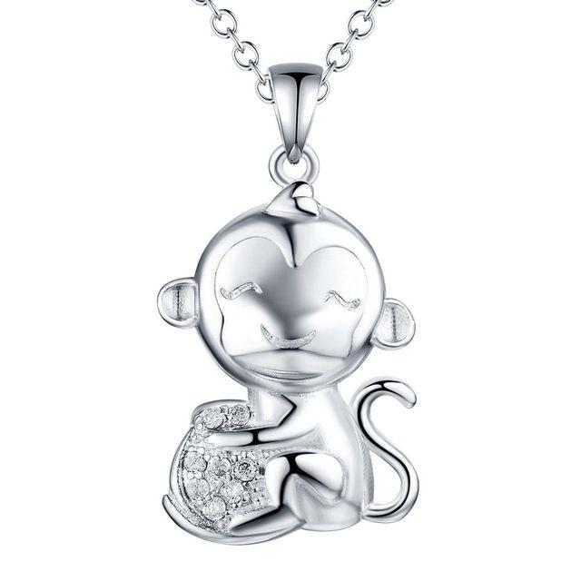 Оптовые посеребренные шарм Ожерелье, бесплатная доставка 925 штампованные ювелирные изделия кулон AN1731/ddyalvfa