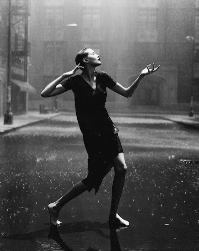 "PETER LINDBERGH  ""Nadja Auermann,  Paramount Studios, Hollywood, USA 1996"""