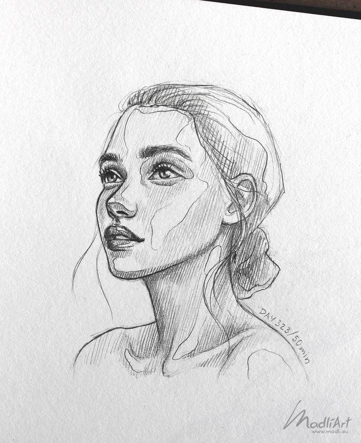 Meine Skizzenbuchkunst Ich zeichne glückliche ver…