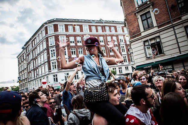 Distortion — Copenhagen, Denmark. Wildest Party. Celebrating club culture with music, art, and street performances.