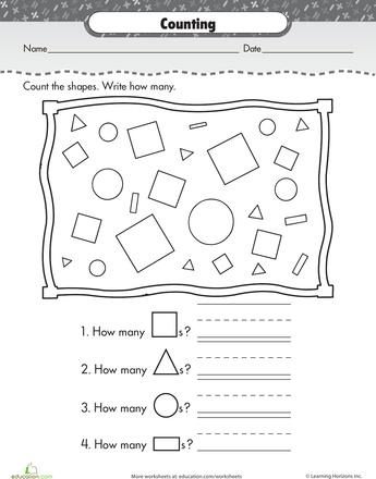 Slideshow: Shape Up: Basic Shapes for Kindergarteners