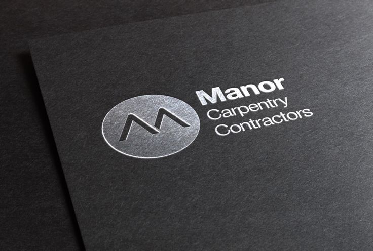 Logo and Identity for a Carpentry Contractors in Norfolk.