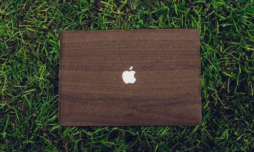 Glitty MacBook Cover Valnød 3
