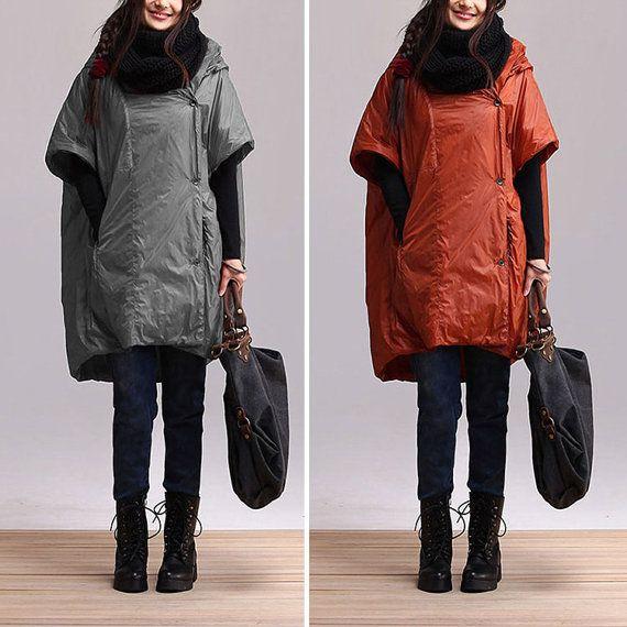 2colors Women winter long hooded coat Thicken Warm jacket от Aolo, $106.00