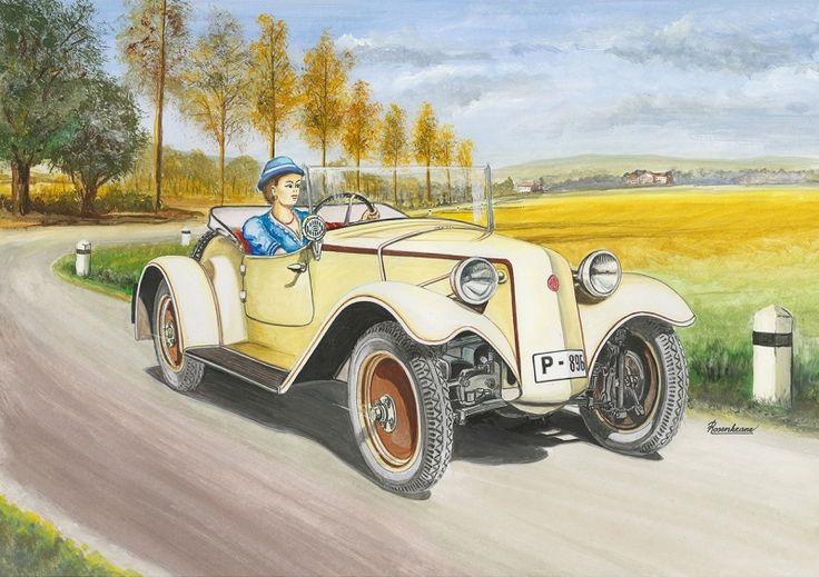 Tatra 57 roadster (1931). Vozy tohoto typu se vyráběly jako dvousedadlové, nebo třísedadlové s nouzovým sedadlem pod krytem za předními sedadly. Celkem se v tomto provedení vyrobilo  112 kusů, z toho část v luxusním provedení. Motor: plochý, čtyřdobý  zážehový čtyřválec chlazený vzduchem. Vrtání/zdvih – 70/75 mm, zdvihový objem 1155 ccm. Rozvod OHV. Výkon 18 k (13,3 kW). Spojka suchá lamelová. Mechanická čtyřstupňová převodovka. Brzdy  bubnové, mechanické na čtyři kola. Max. rychlost 80…
