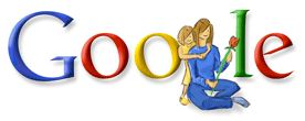 Google Logo - Mother's Day in the Middle East -  March 21, 2008