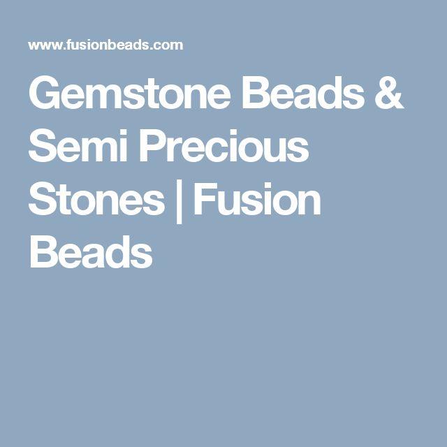 gemstone beads u0026 semi precious stones fusion beads