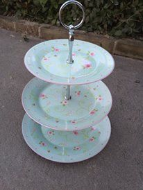 Pretty cake stand (thrifted)