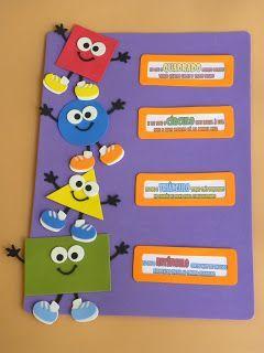 A ARTE DE EDUCAR: Idéias de Material para decoração de sala de aula e apoio…